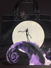 "Tim Burton's NIGHTMARE BEFORE CHRISTMAS ""Jack Skellington"" Tote Bag BNWT"