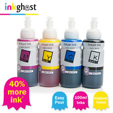 100ml Ink compatible with Epson EcoTank - ET-2500 ET-2550 ET-4500 *40% MORE INK*
