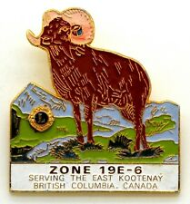 Spilla Lions International British Columbia Canada Zone 19E-6 Serving The East K