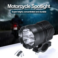 2x 40W Motorcycle LED Fog Driving Lamp Lights Spot Light Headlight with Switch