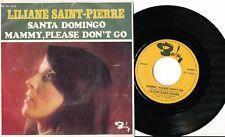 LILIANE SAINT-PIERRE 45 TOURS BELGIQUE SANTA DOMINGO
