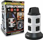 Bell & Howell Spin Power Ultimate Deluxe Charging Station NEW
