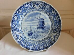 Delfts Royal Sphinx Maastricht Plate Mill Sailboats And Thinking P Regout