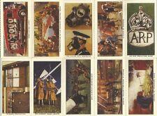 10 World War II Cigarette Cards / The Blitz World War II 1939-1945 Home Front