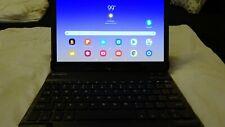 "Samsung Galaxy Tab S4 64GB, wi-Fi + 4G, (Verizon), 10.5"" w/keyboard & 128GB card"