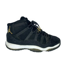 Nike Air Jordan 11 XI Retro GS Premium Black Stingray 852625-030 Kids Size 7.5Y