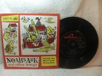 William Clauson – Noah's Ark and Other Songs 1959 EP HMV 7EG 8438