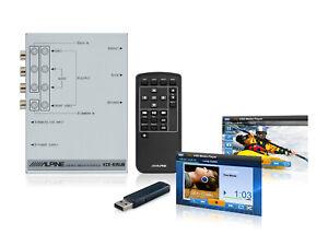 KCE-635UB interfaccia universale Alpine usb audio video per Monitor Alpine e non