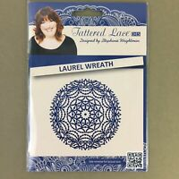 Tattered Lace metal cutting die Laurel Wreath new