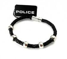 Police global Herren Armband Pj23543blb-01-21 Edelstahl