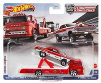 Hot Wheels 2021 Team Transport '65 Mercury Comet Cyclone & Ford C-800 1/64 Scale