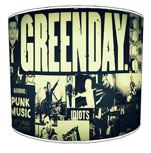Green Day Punk Rock Lampshades To Match Albums Posters Bedding Duvet Curtains