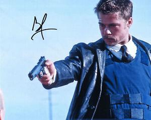 Original Signed Photo of Brad Pitt 10x8 + COA