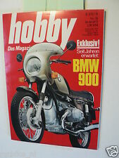 HOBBY 1973-21, TEST BMW R90S,TEST PEUGEOT 104,RENAULT 5TL,FIAT 127,SKI,HOT ROD C