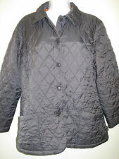 Barbour L6 Shaped Flyweight  Quilted Jacket - UK 14 Euro 40 in Black
