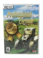 Professional Farmer PC DVD 2019 Gold Edition New Sealed Unopened Includes Cattle
