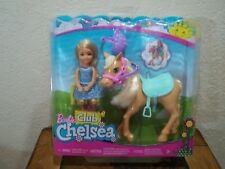 2016 Barbie Little Sister Club Chelsea Doll With Pony New In Box Play Set