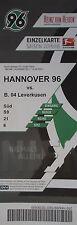 TICKET 2015/16 Hannover 96 - Bayer Leverkusen