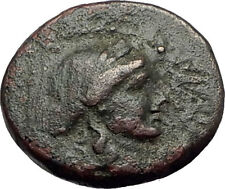 SARDES in Lydia 133BC Authentic Ancient Greek Coin APOLLO & HERCULES CLUB i62409