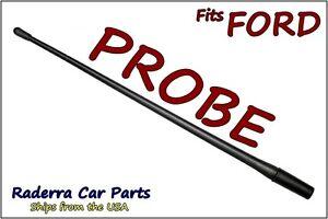 "FITS: 1989-2003 Ford Probe - 13"" SHORT Custom Flexible Rubber Antenna Mast"