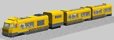 LEGO INSTRUCTIONS to build Monorail Mono rail Train for City Town or Village