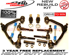 Heavy Duty Ball Joint Control Arm Tie Rod End Kit  for 1997 Ford Expedition 4x4