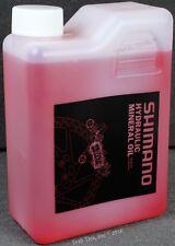 Genuine Shimano Hydraulic Bike Brake Mineral Oil Fluid 1000ml 1L 1-Liter Bottle
