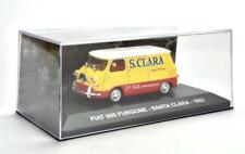 FIAT 600 FURGONE - SANTA CLARA 1962  PUBBLICITARI 1/43 [089]