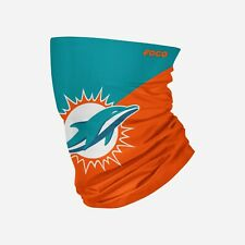New listing Miami Dolphins Big Logo Multi-Use Gaiter Scarf Face Mask Neck Covering