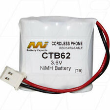 CTB62 3.6V NiMH Cordless Phone Battery