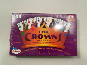 FIVE CROWNS The Five-Suited Rummy-Style Playing Card Game *BRAND NEW SEALED*
