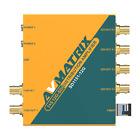 AVMATRIX SD1151-12G 1 5 12G-SDI Reclocking Distribution Amplifier Support DVB-AS