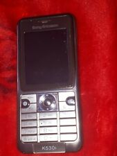Sony Ericsson K530i - Silver (Unlocked) Mobile Phone Selling for Parts