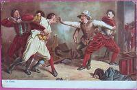 La Rixe-Meissonier Tuck's oilette 1910 series sign Picture Postcards PPC