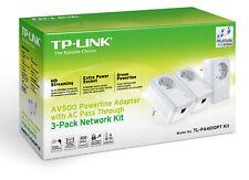 Modem PLC TP-LINK TL-PA4010 PTKIT 3 Nano Powerline 500 mbps PLCs Red Ethernet