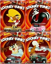 Hot Wheels Pop Culture LOONEY TUNES CASE M ASSORTMENT 4 Diecast Car