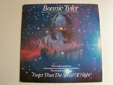 "BONNIE TYLER : Faster than the speed of night / Gonna get better 7""  CBS A 3338"