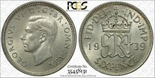 1939 GREAT BRITAIN SIXPENCE PCGS MS63 BEAUTIFUL!!