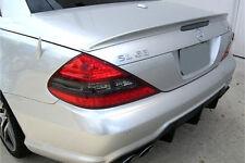 Mercedes SL R230 SL350 SL55 SL63 SL65 AMG Style Trunk Boot Lip Spoiler