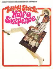 Souvenirprogramm | Original 1968 | HALF A SIXPENCE | Tommy Steele | Top