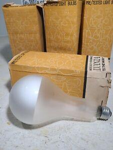 4 Sylvania 200 Watt Bulbs