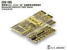 """ET Models 1/35 GAZ-233014 STS """"TIGER"""" Interior PE Detail for Meng VS-003"""