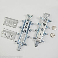CONCEALED UNIVERSAL HANGING BRACKET KITCHEN WALL UNIT CABINET PLATES COVER CAPS