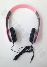 Pink AKAI Headphones Clear Sound Headset Telescopic Chute Collapsible Design
