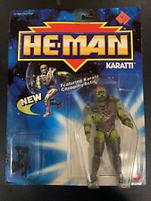 1989 He-man Karatti Box Is in Great Shape, Plastic Is Perfect