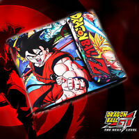 2018 Anime Dragon Ball Z GOKU Leather Wallet Purse Money Card Holder Cosplay NEW