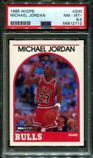 1989 HOOPS #200 MICHAEL JORDAN BULLS HOF PSA 8.5 K3106028-712