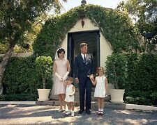 President John F. Kennedy and family dressed for Easter 1963 - New 8x10 Photo