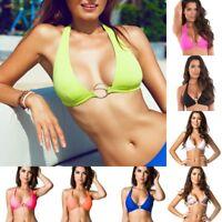 Coqueta Women Swimwear Bikini separates halter top banded Swimsuit MADE IN USA