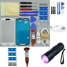 Samsung Galaxy S3 Front Glass Screen Replacement Repair Kit WHITE UV TORCH
